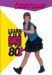 Christy Lane's Learn the Dances of the 80's DVD