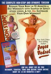 Joyce Vedral: Dynamic Tension & Complete Non-Stop Workout DVD