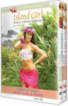 Island Girl Dance Fitness Workout for Beginners: Hula - Cardio/Abs & Buns 2 Vol. Gift Boxed Set