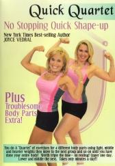 Joyce Vedral: Quick Quartet - No Stopping Quick Shape-up Workout DVD