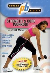 Power Body: Strength and Core Workout 2 DVD Set with Trish Muse DVD