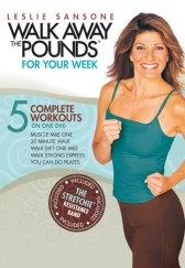 Leslie Sansone: Walk Away the Pounds for Your Week DVD with Stretchie Band